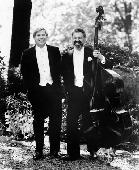 Harmon Lewis and Gary Karr